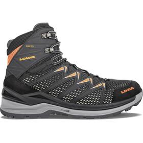 Lowa Innox Pro GTX Mid Shoes Men, black/orange